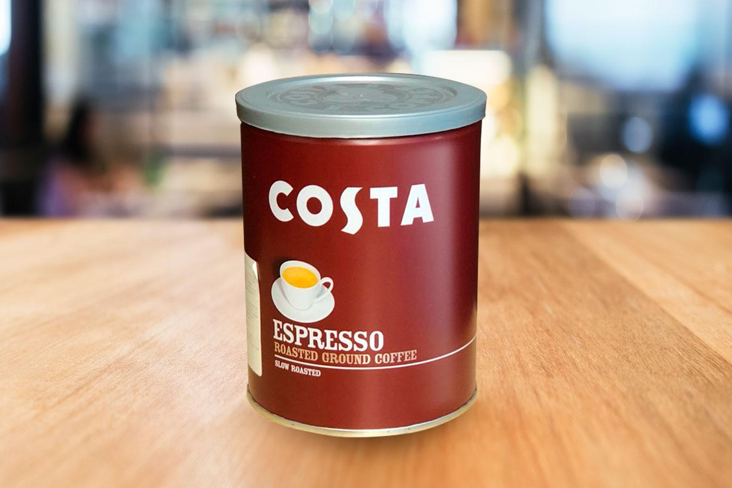 Кофе в банках молотый