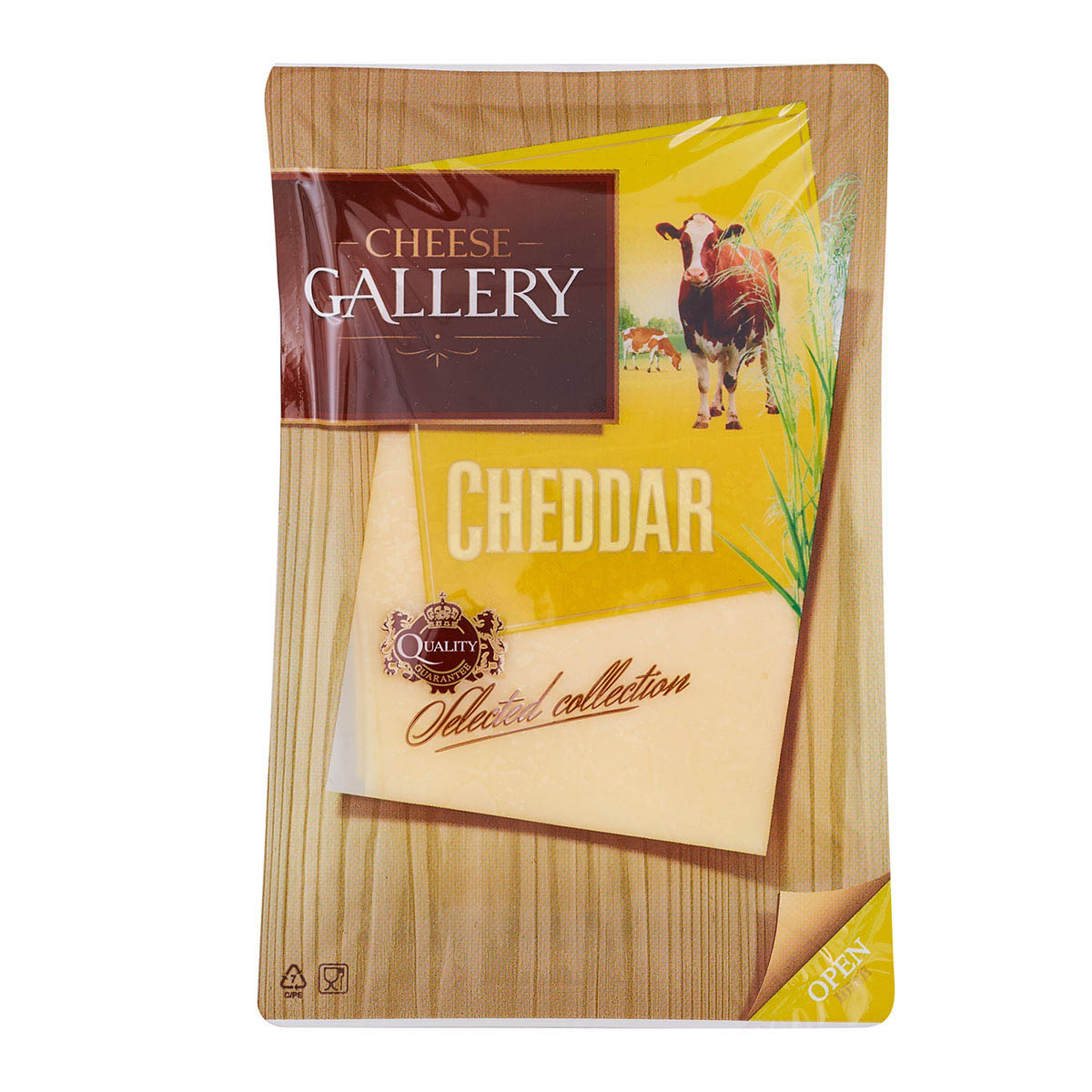 Cheese gallery 45% чеддер