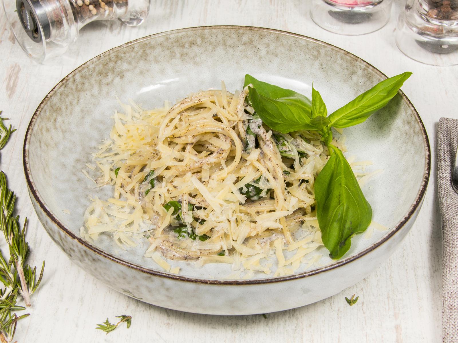 Спагетти с трюфелем