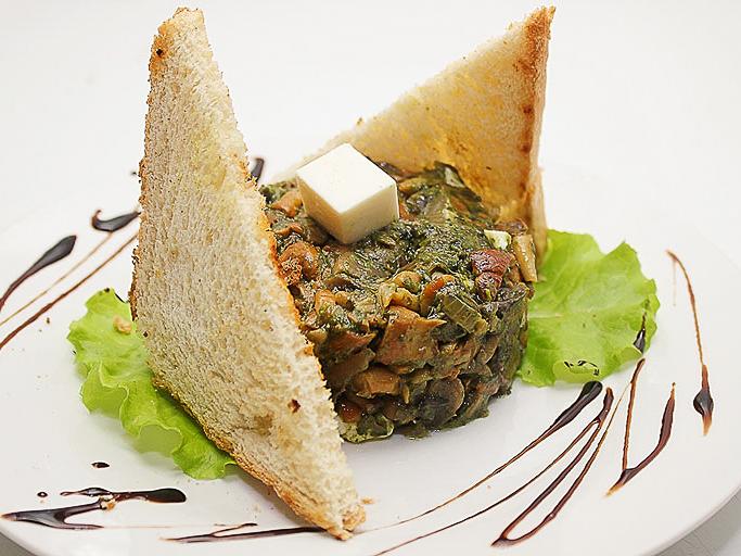 Салат тартар из грибов