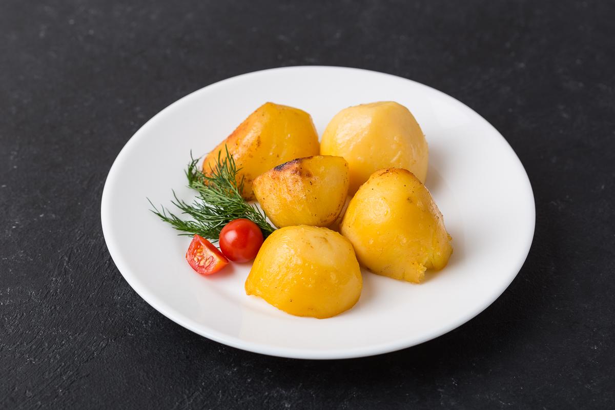 Картофель, запечённый по-домашнему