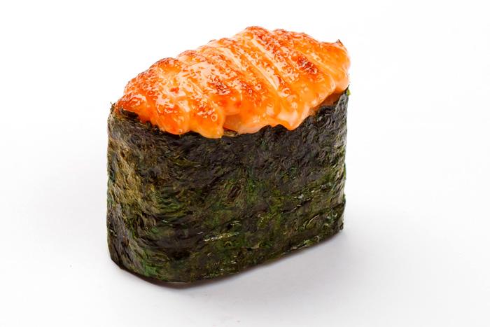 Запеченные суши: Спайси сякэ