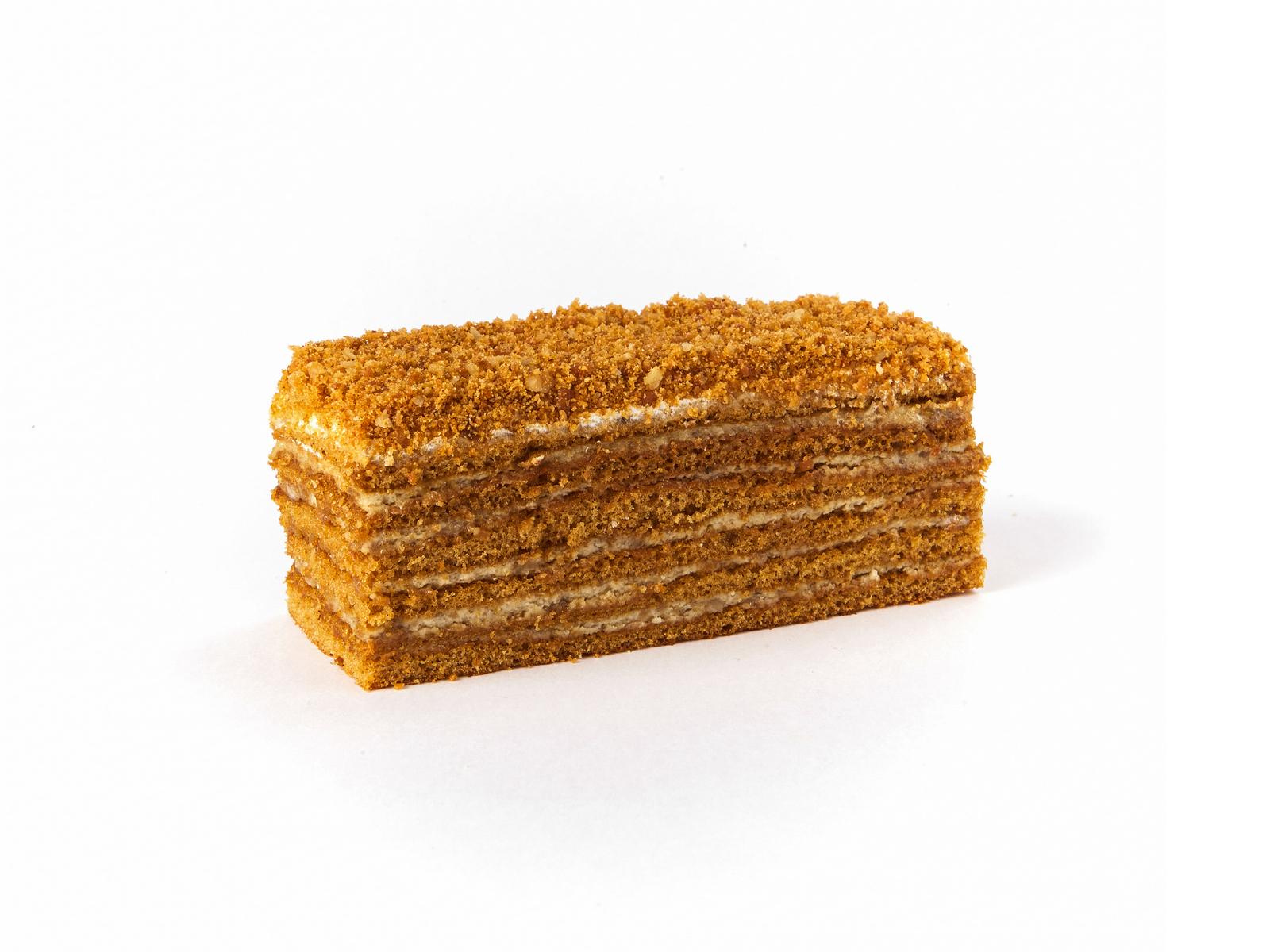 Медовое пирожное