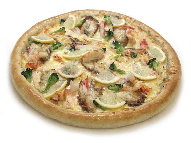 Пицца Морские деликатесы