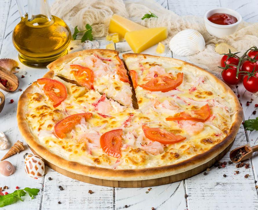 Пицца Морская классическая