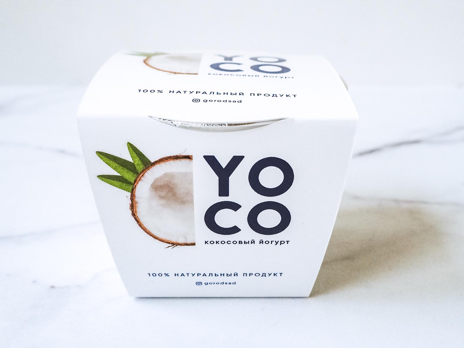 Кокосовый йогурт Yoco