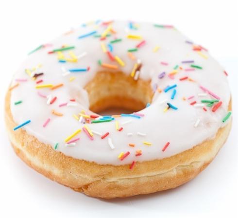 Ванильный пончик