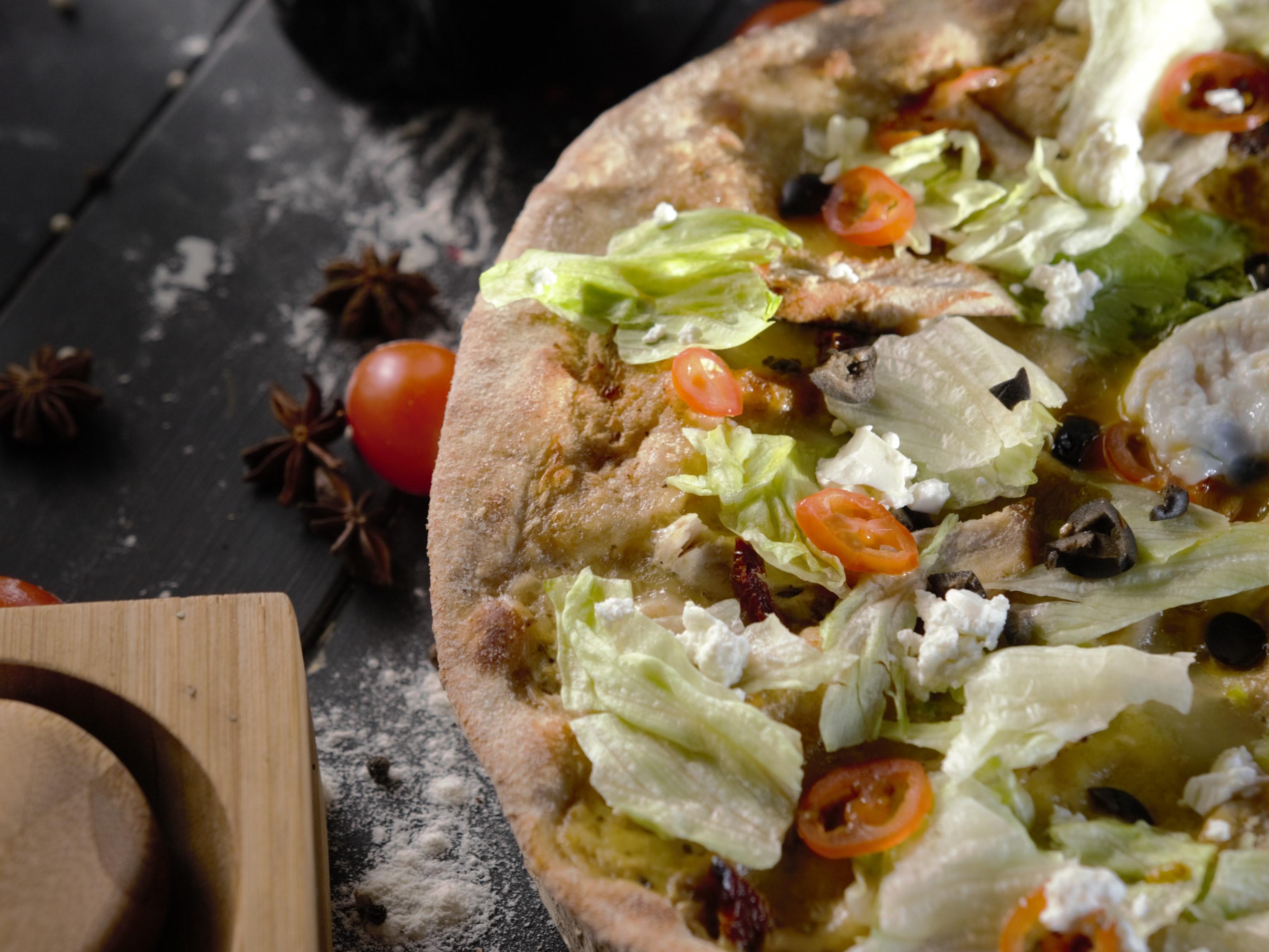 Пицца Гай Цезарь Пашот
