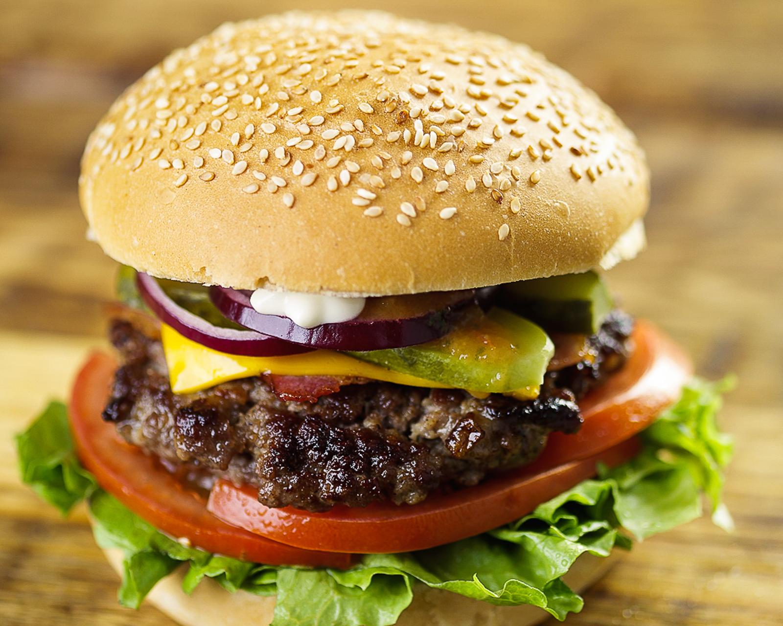 Праймбургер с котлетой из говядины