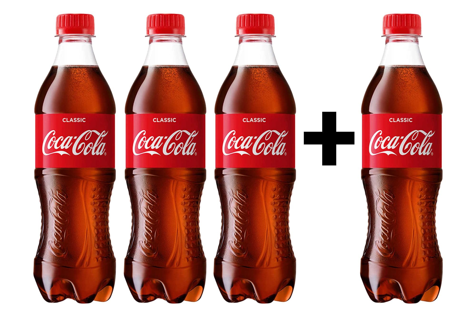 Coca-Cola 3+1