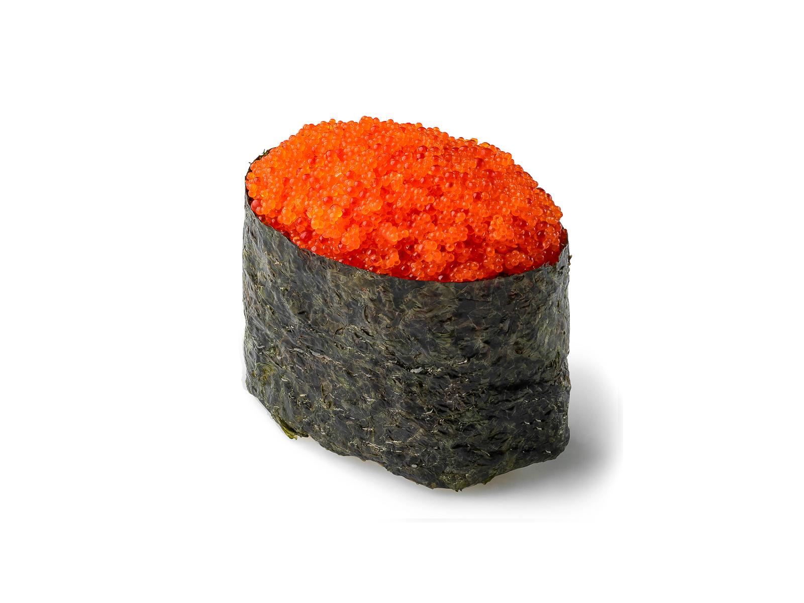 Суши Тобико оранжевая