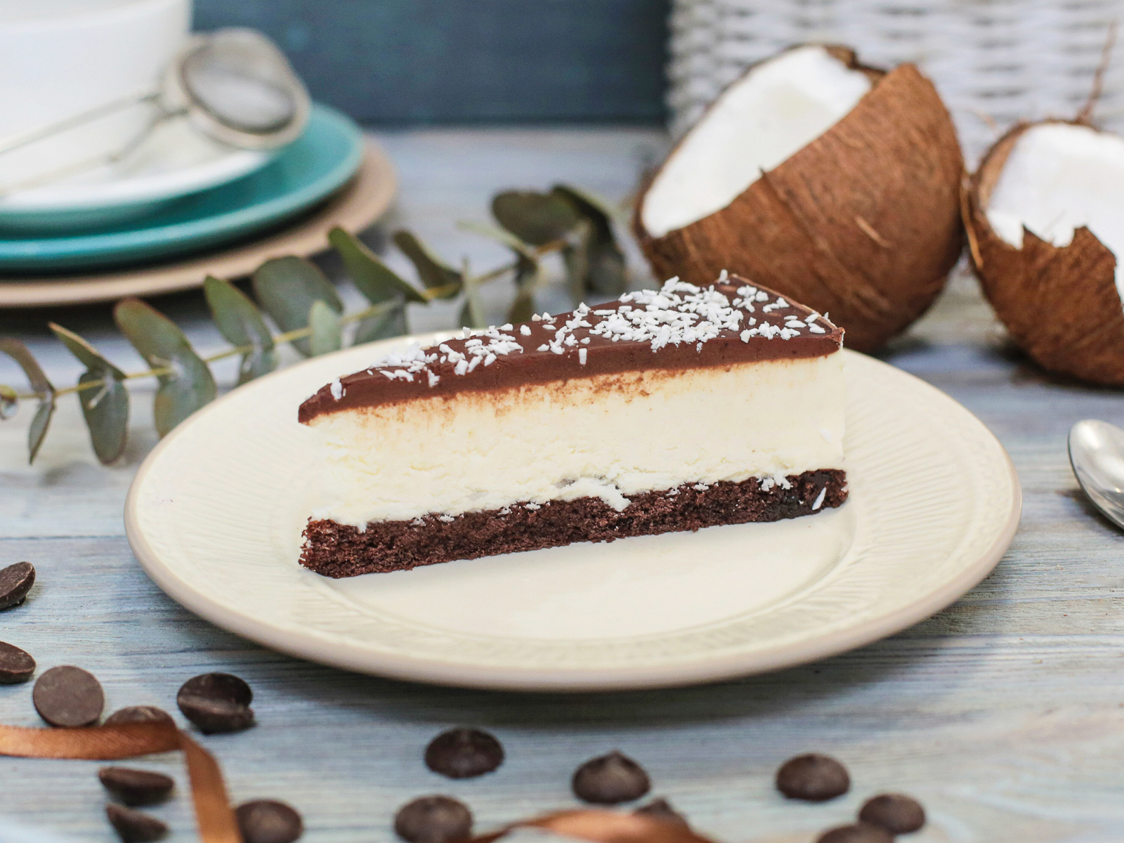 Торт Кокос-шоколад
