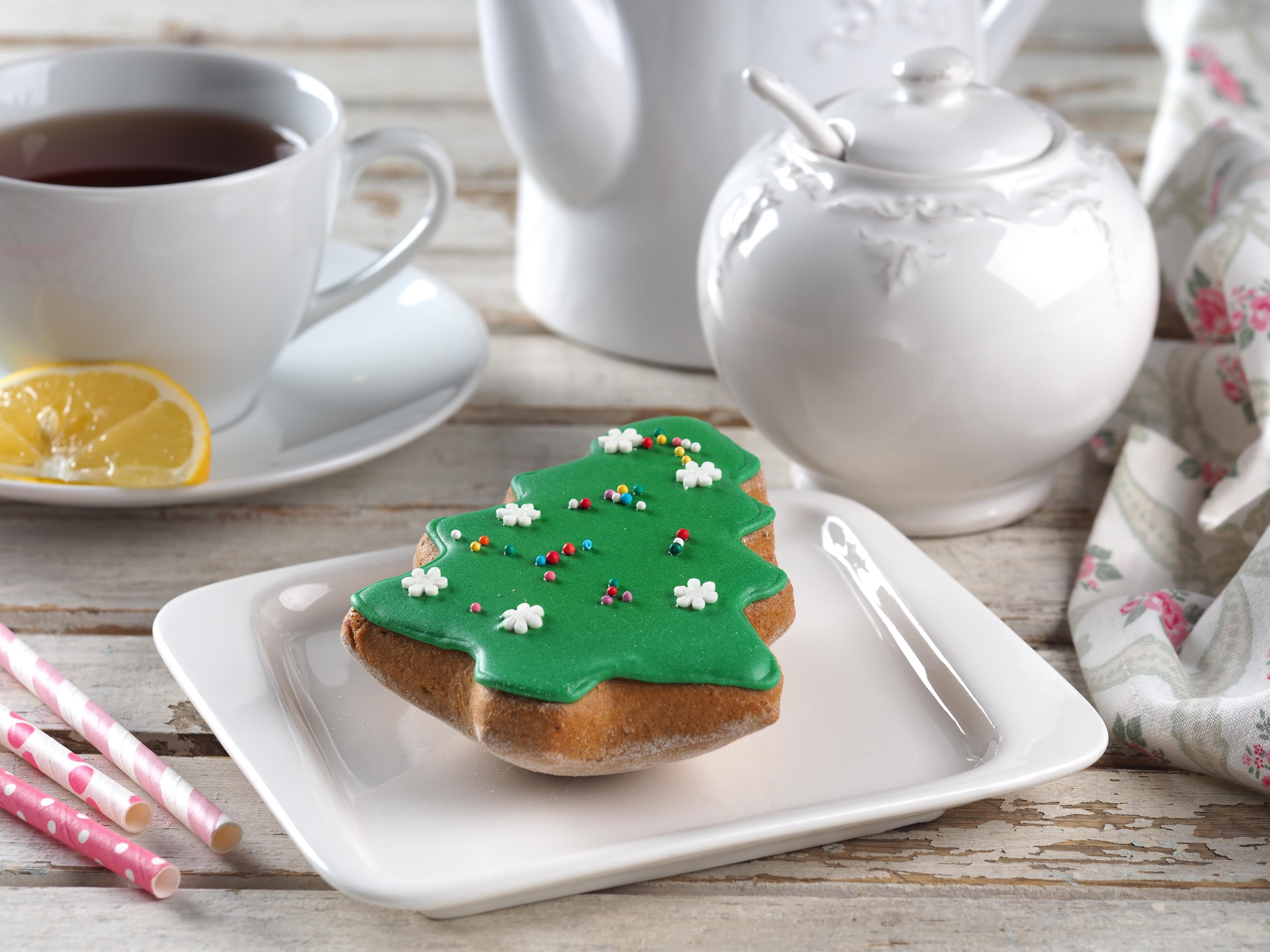 Печенье имбирное (елка)