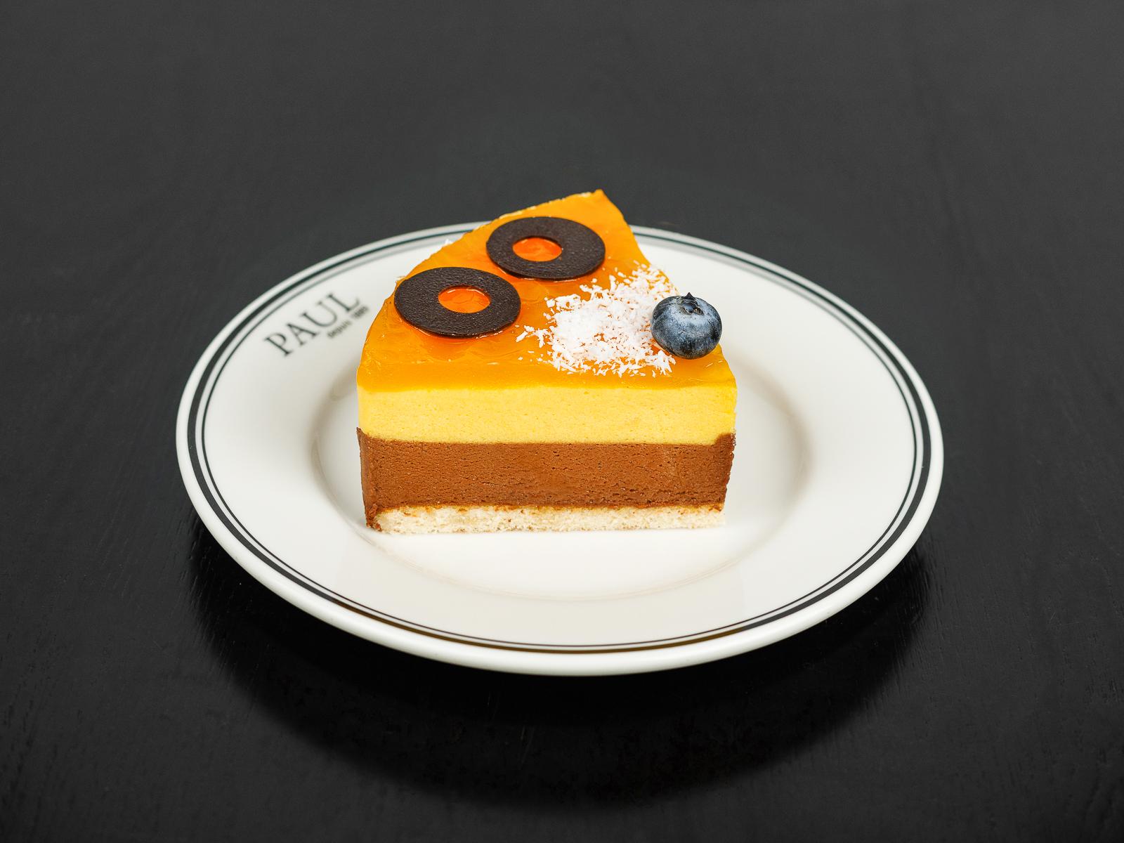 Торт Шоколад-манго (порция)