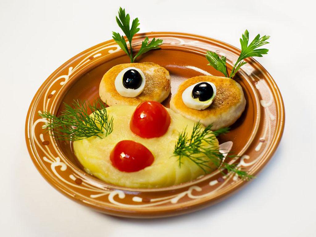 Медальонки куриные с картошечкой