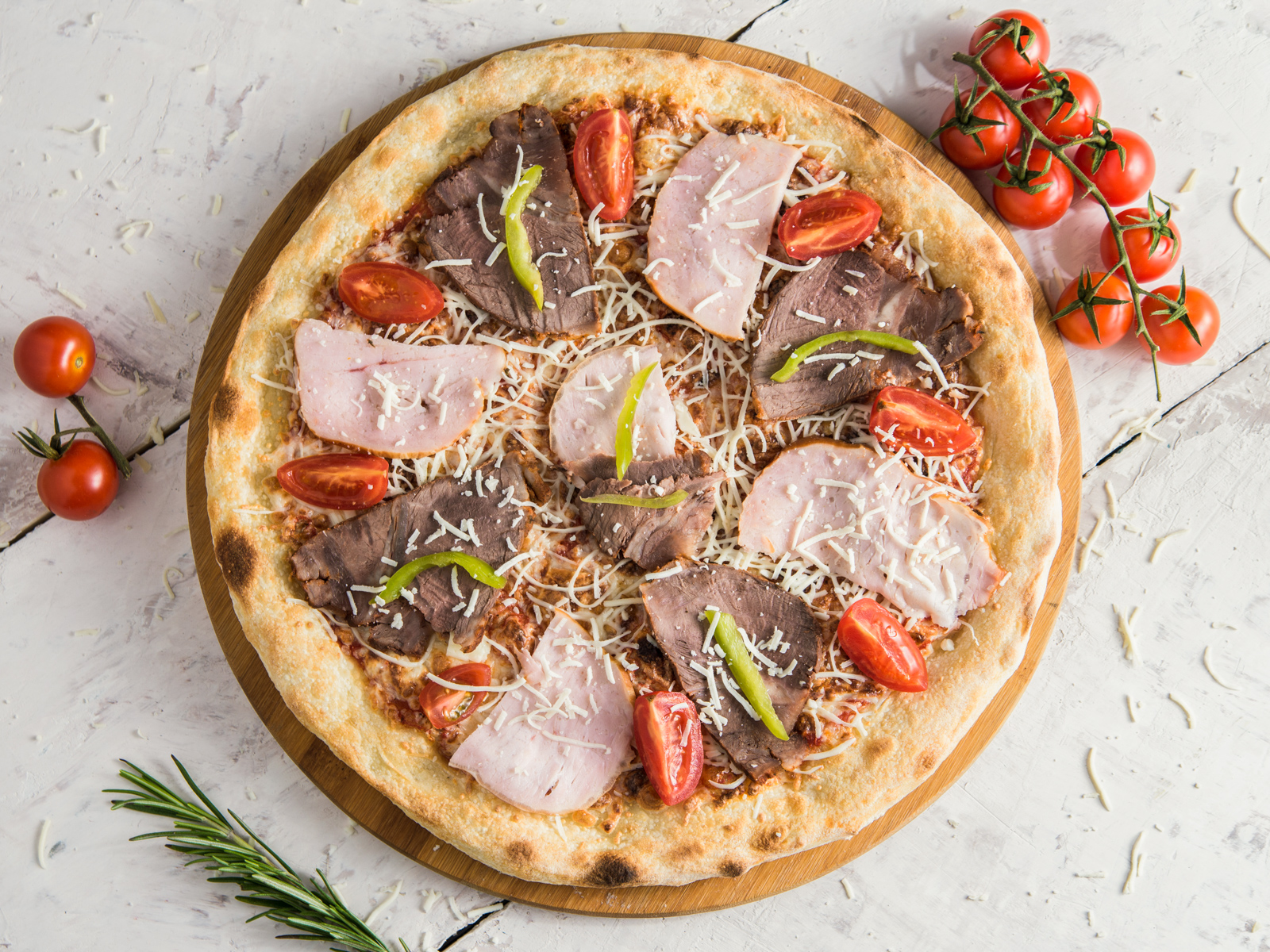 Пицца Сытная