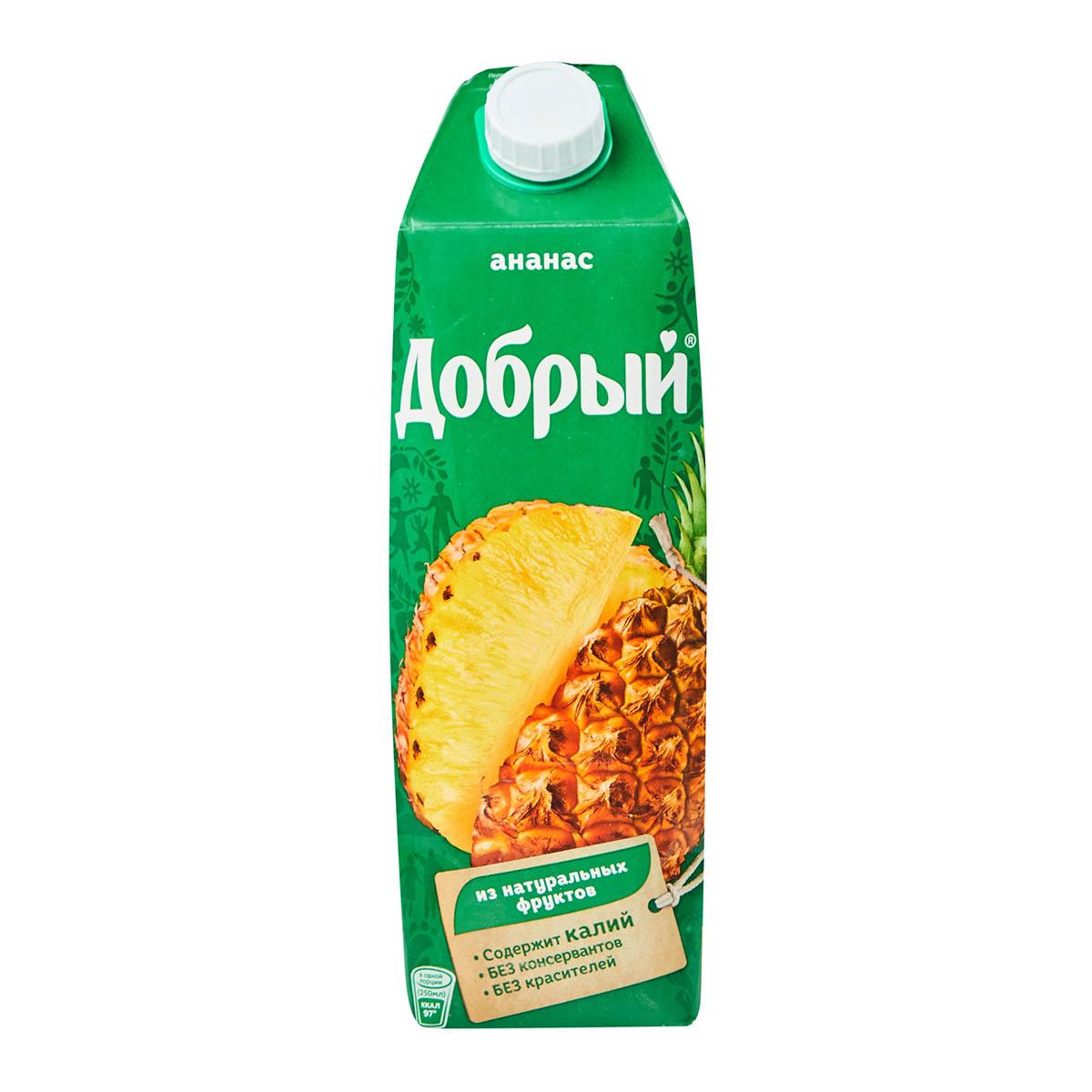 «Добрый» нектар ананас