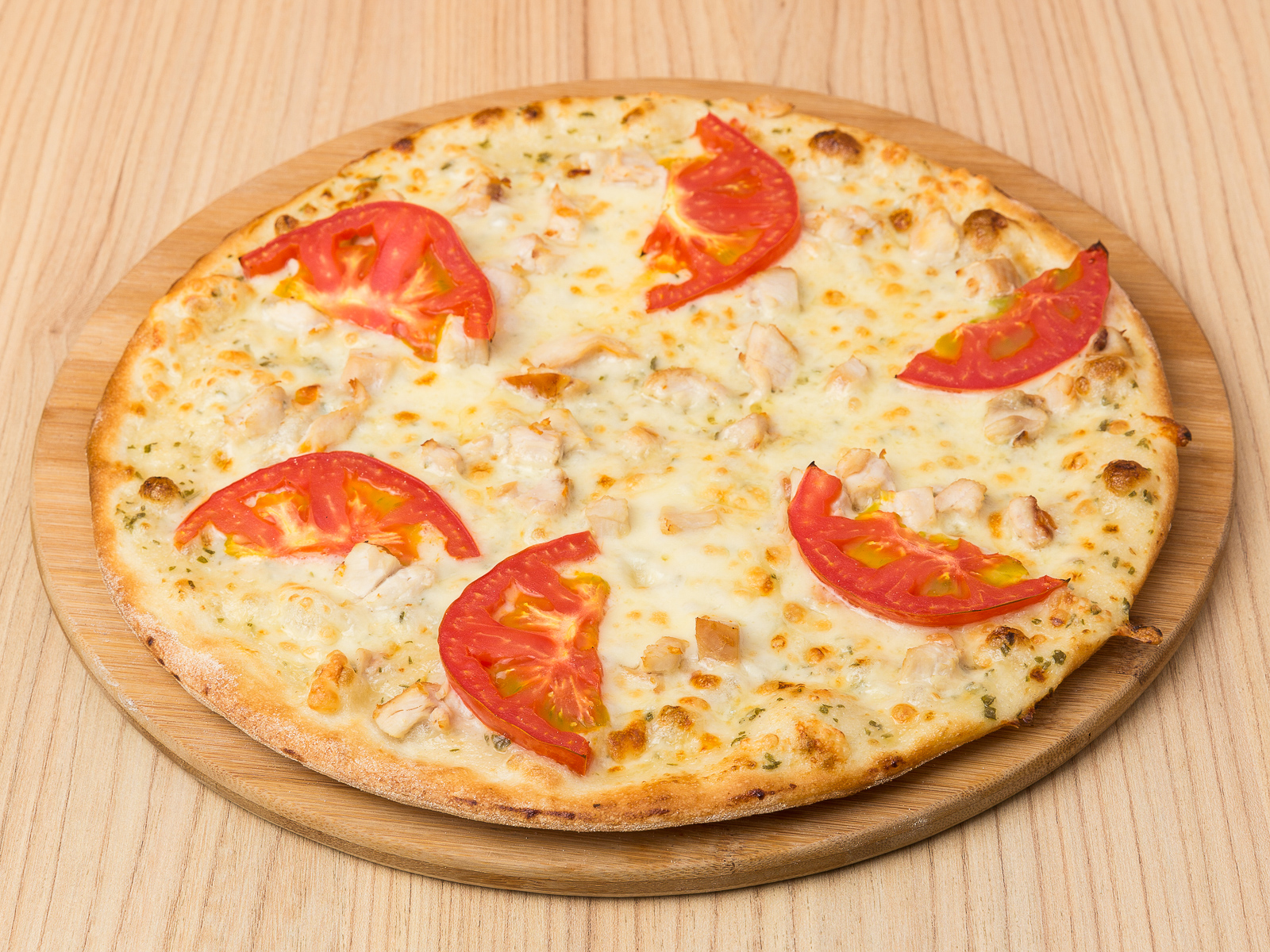 Пицца Цыпленок с чесноком