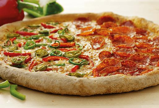Пицца Традиционное тесто 35, сырный борт