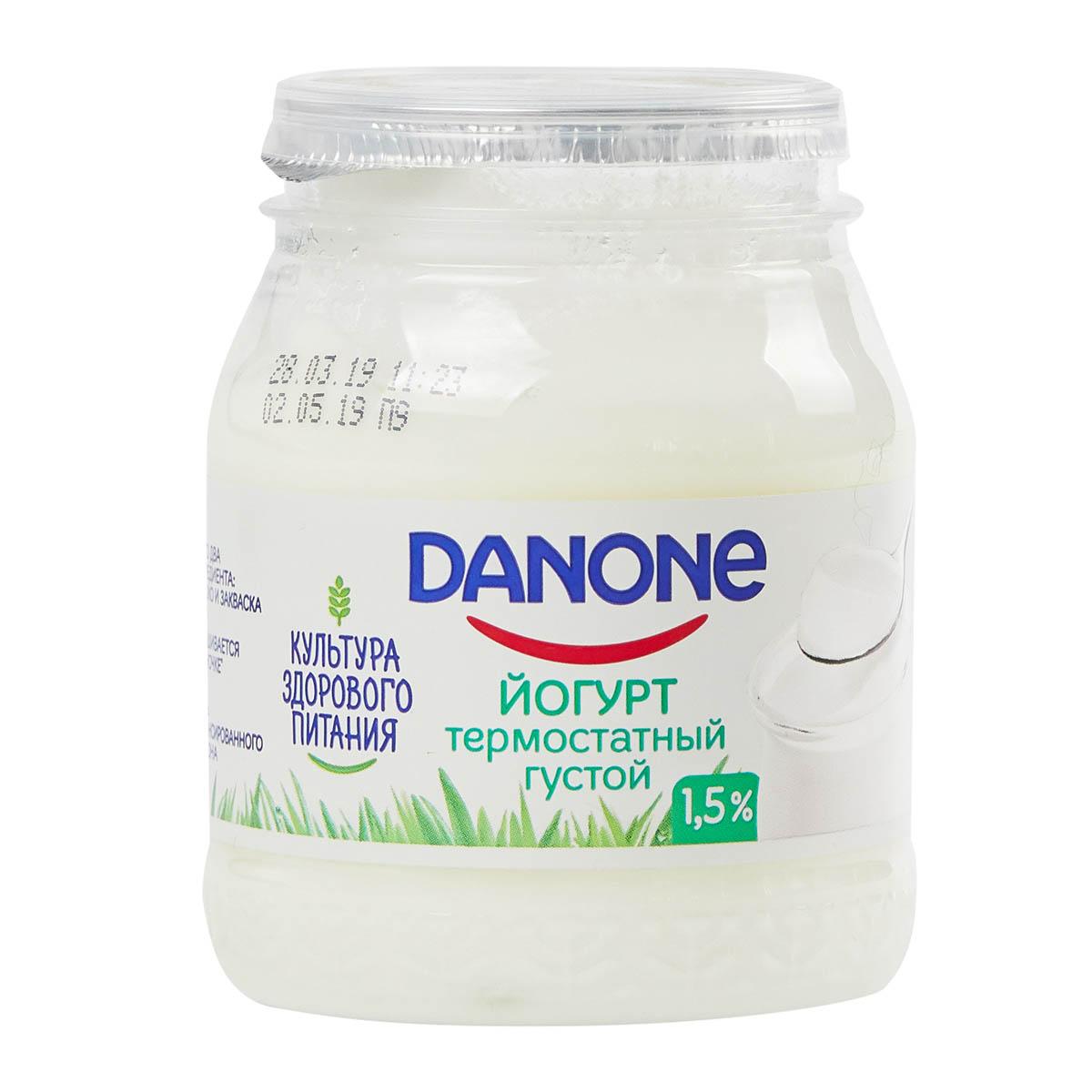 Danone 1,5% термостатный