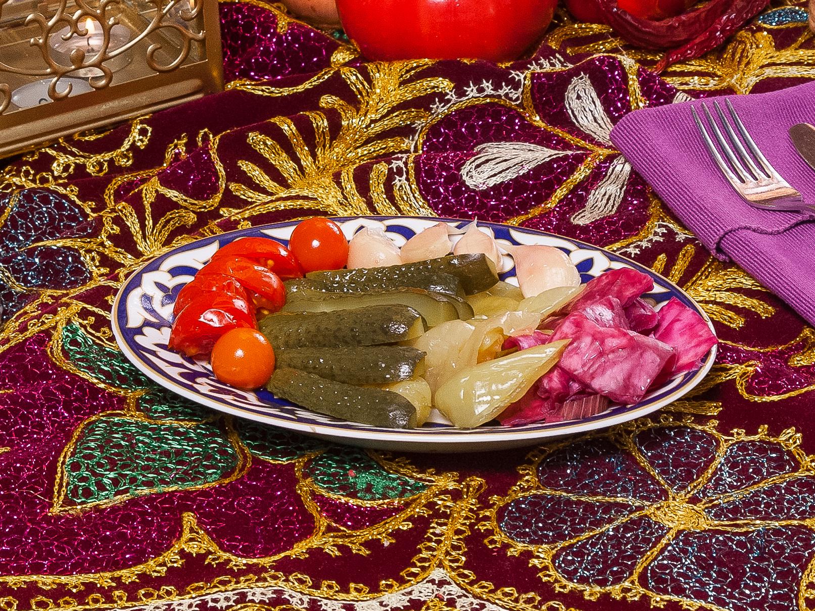 Узбекский разносол