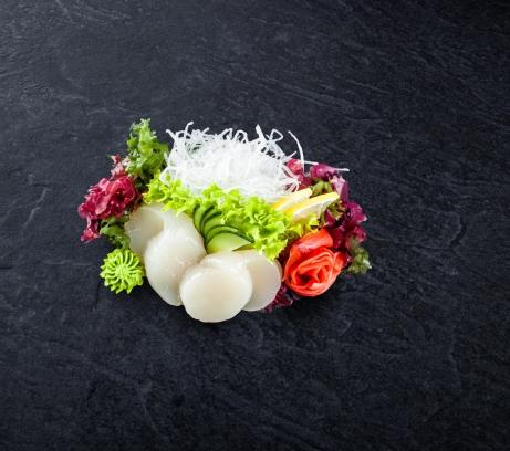 Сашими морской гребешок