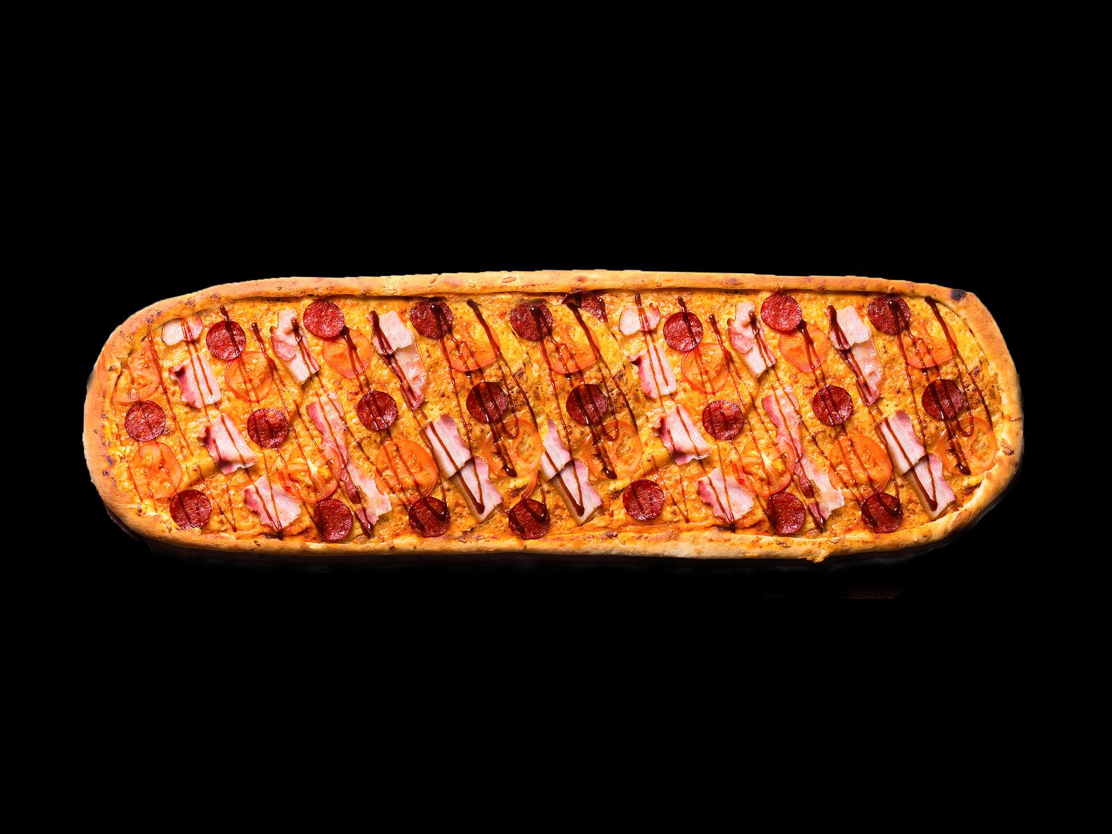 Пицца Барбекю метровая