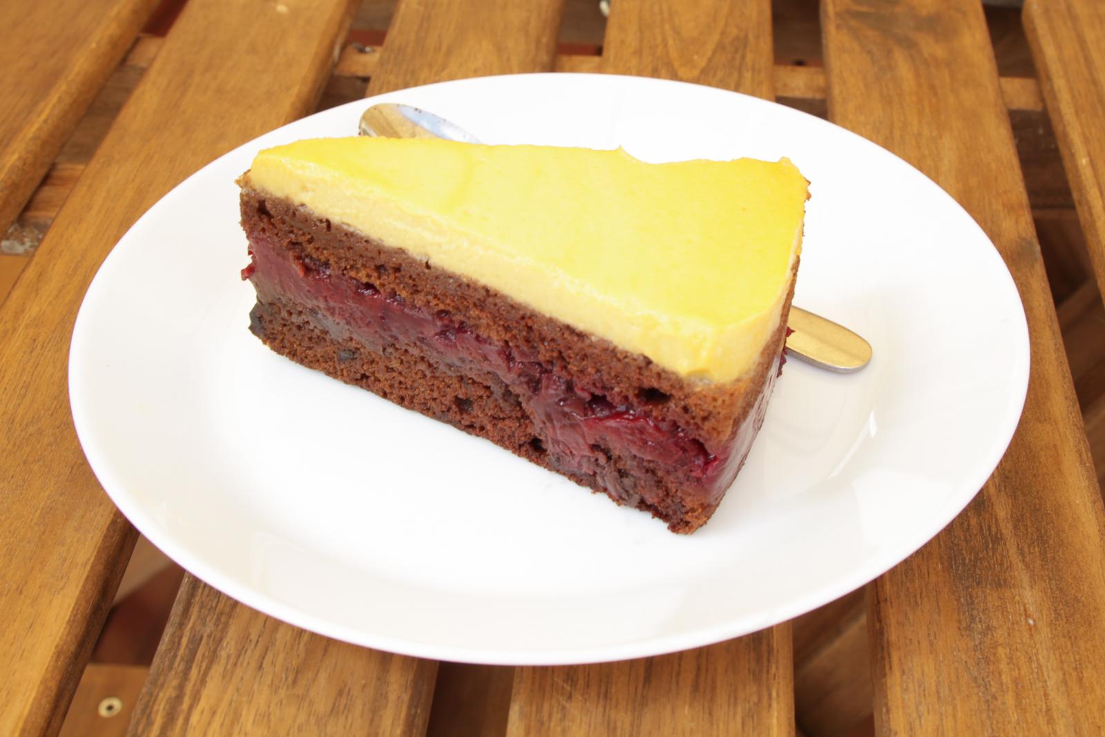 Торт Вишня-манго