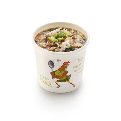 Суимоно японский суп с лососем