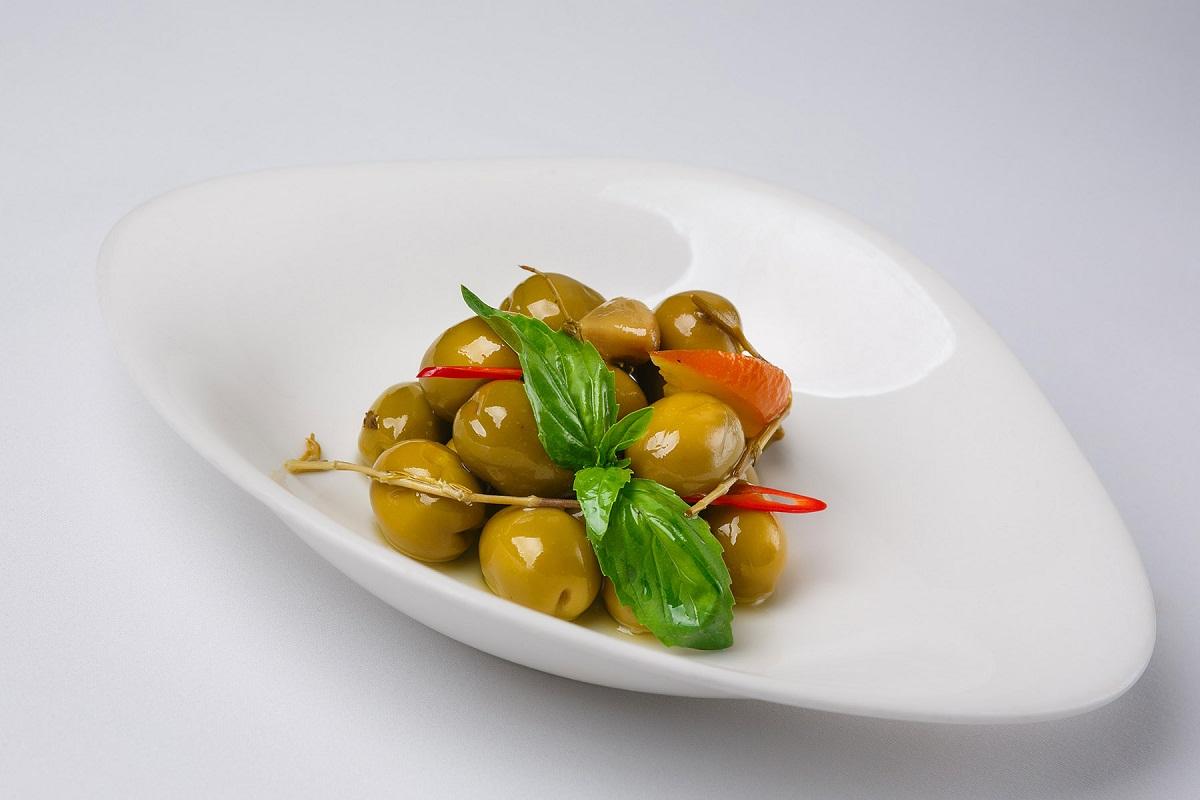Оливки сорта Gordal