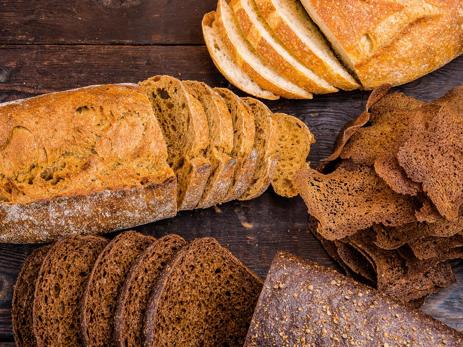Ароматный свежеиспеченный хлеб