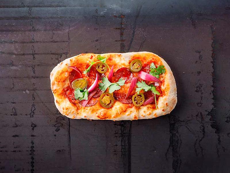 Пиццетта острая с пепперони