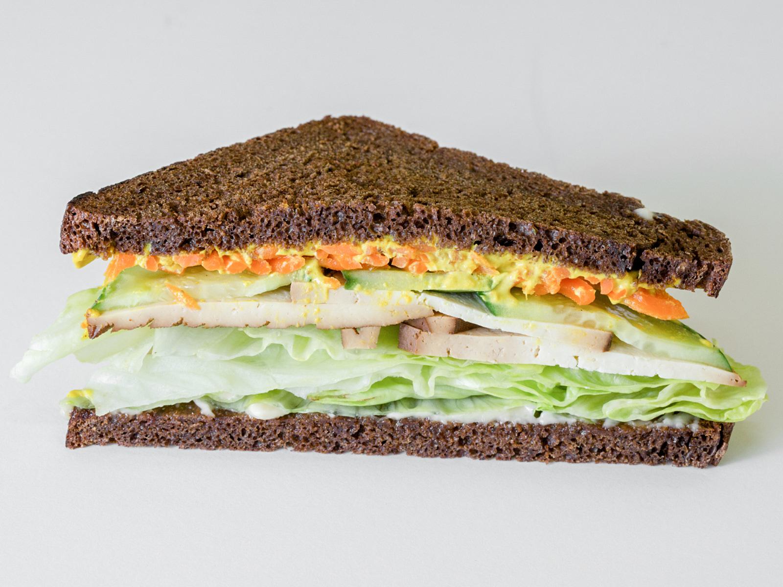 Веганский Сэндвич с тофу