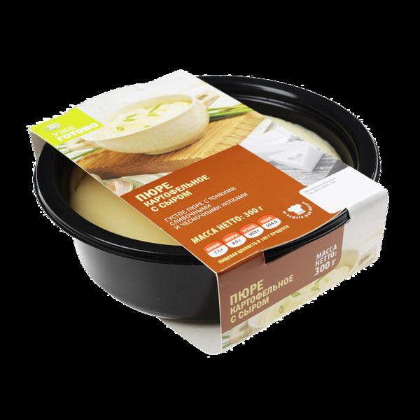 Пюре картофельное с сыром