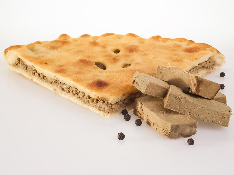 Пирог с печенью говяжьей