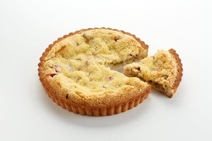 Пирог Ревеневый порция