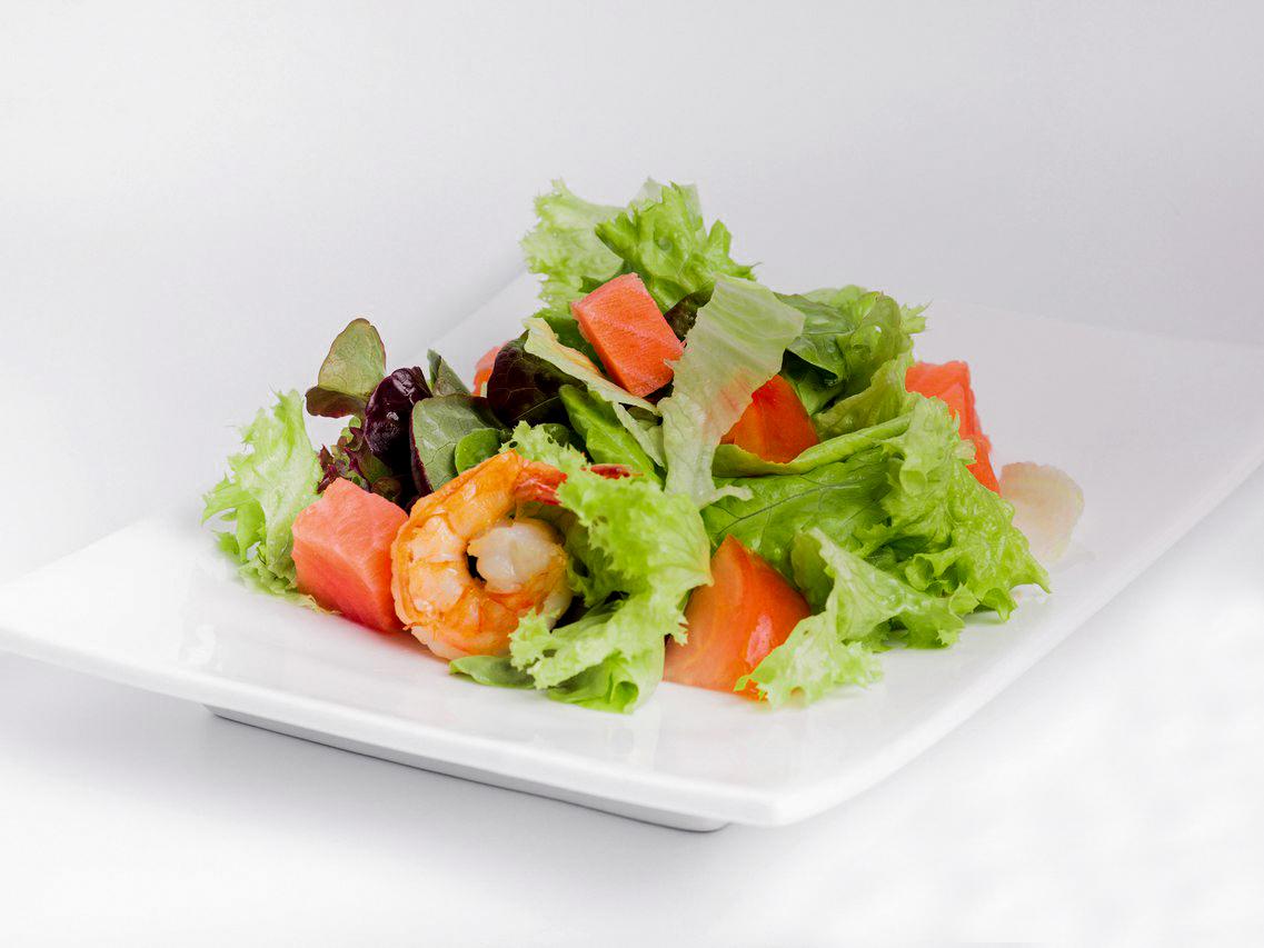 Салат теплый