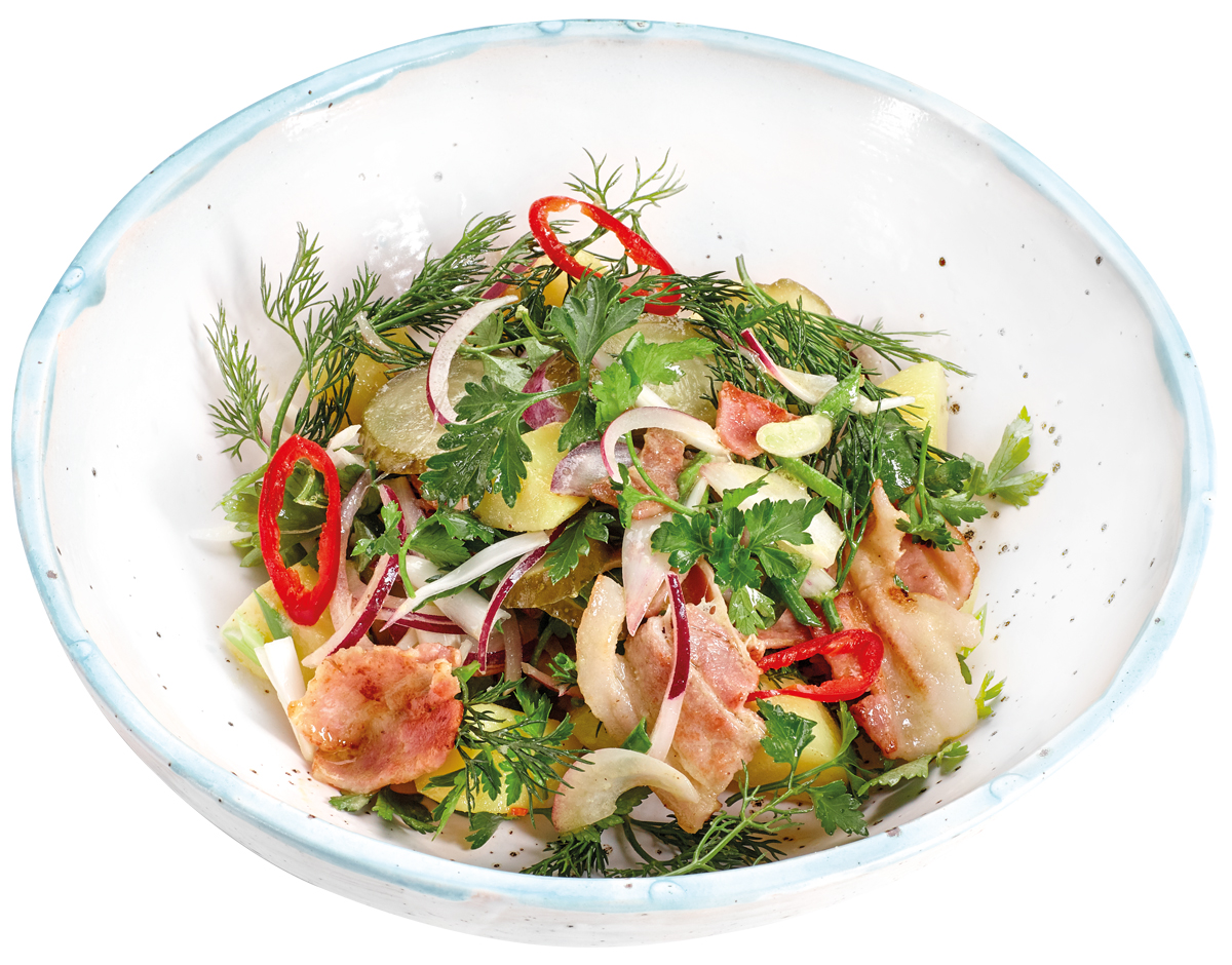 Баварский картофельный салат