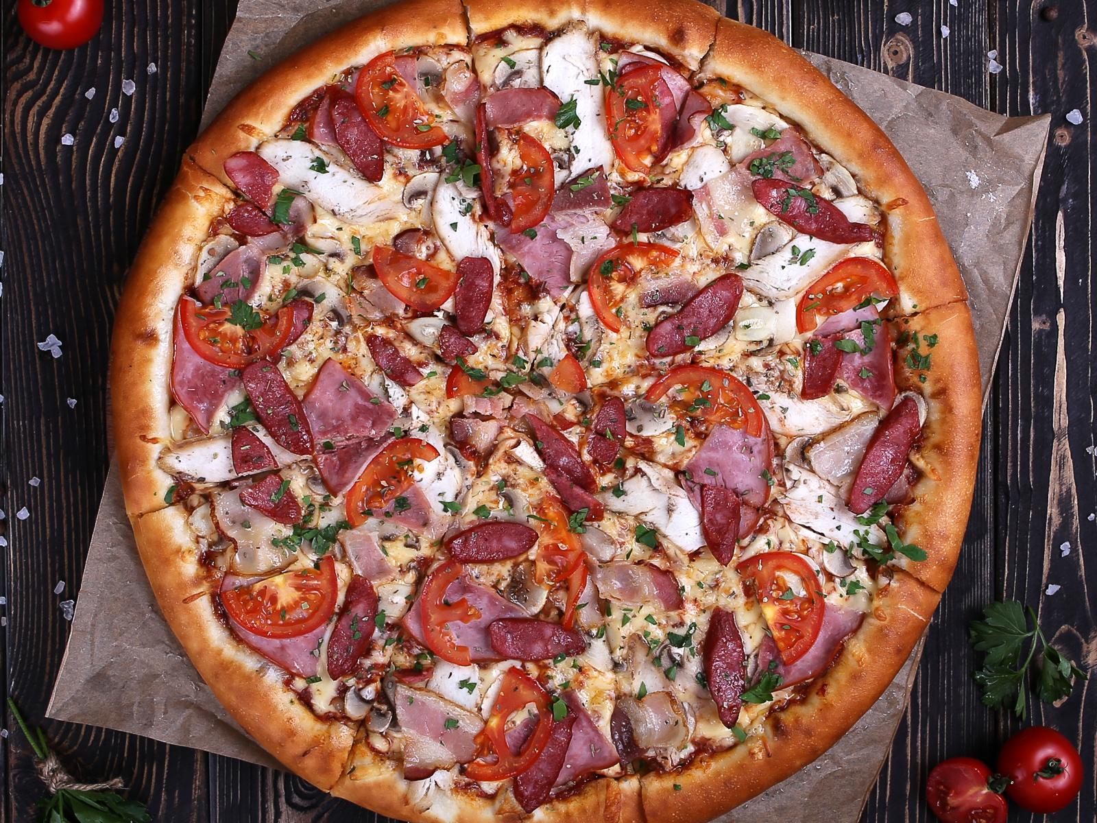 Пицца Мясная Чоли