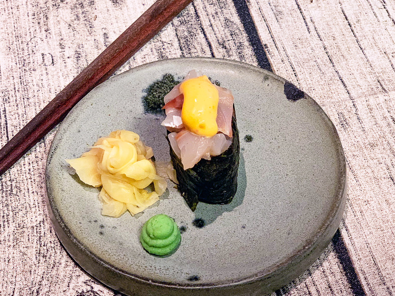 Острые суши Сибас