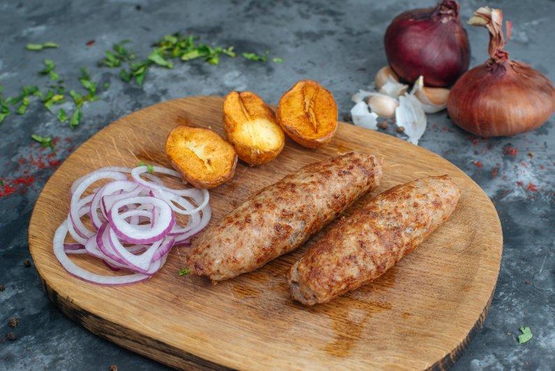 Люля-кебаб телятина-свинина