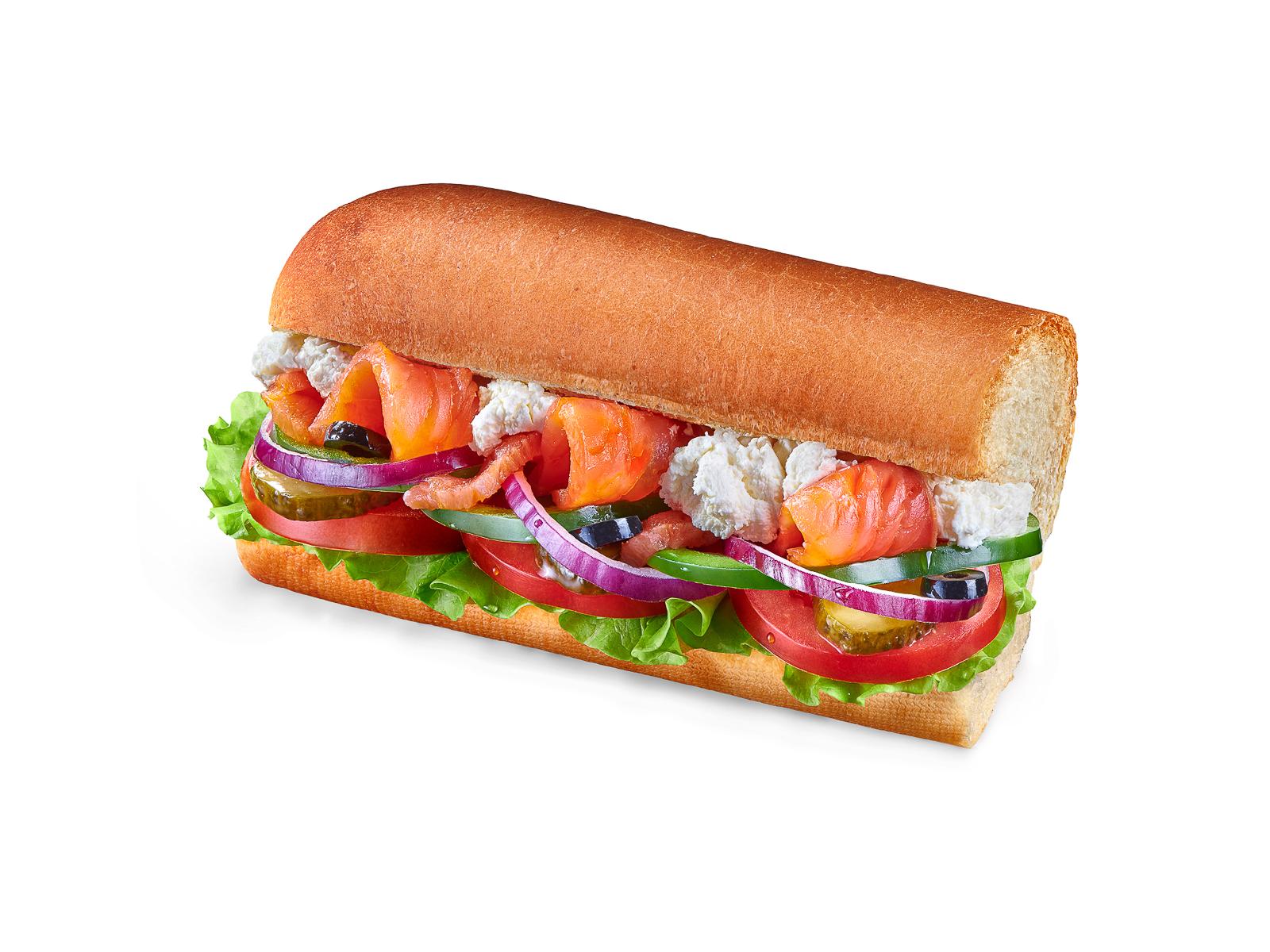 Сэндвич Лосось Крем Чиз