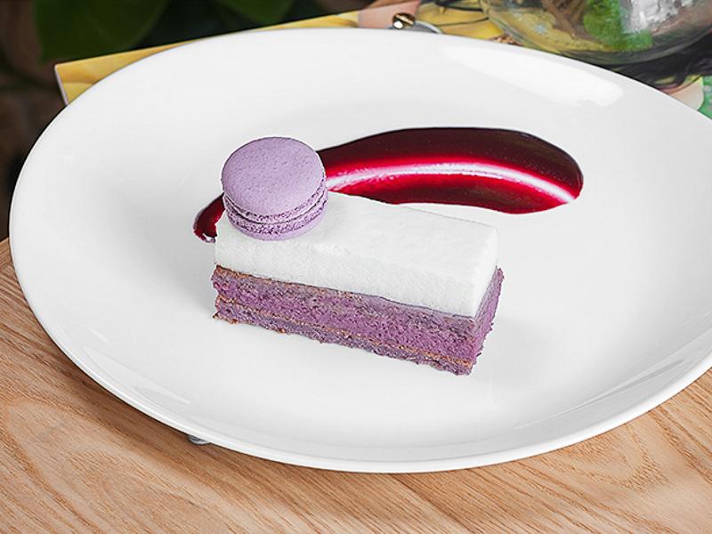 Десерт смородиновый