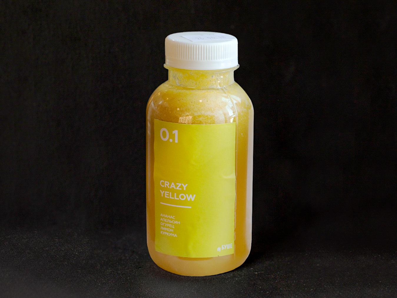 Напиток Детокс Crazy Yellow