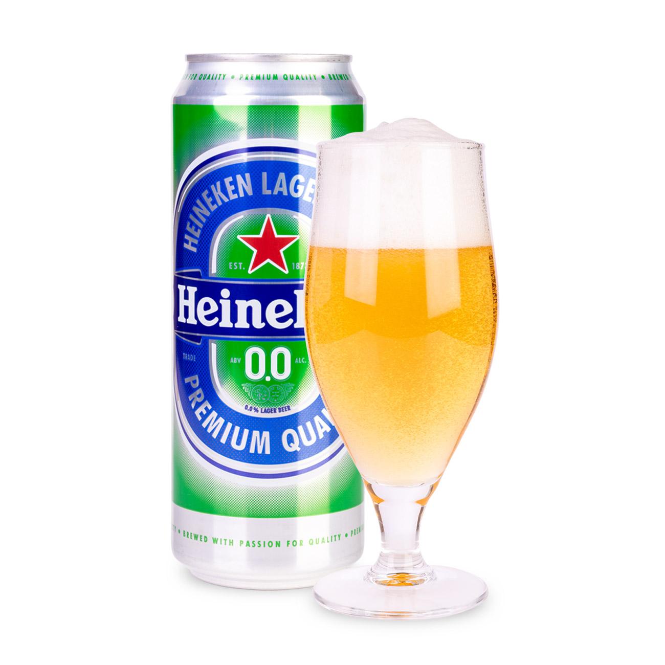 Напиток Пиво Heineken безалкогольное