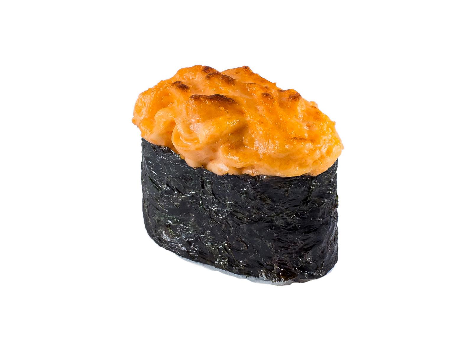 Суши Запеченный сырный лосось