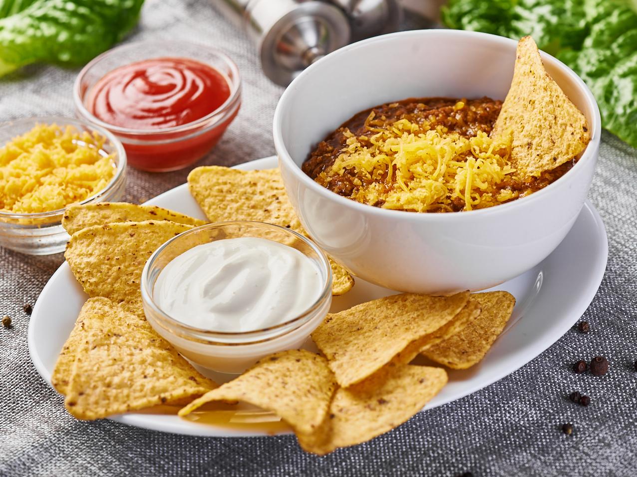 Суп Чили без бобов