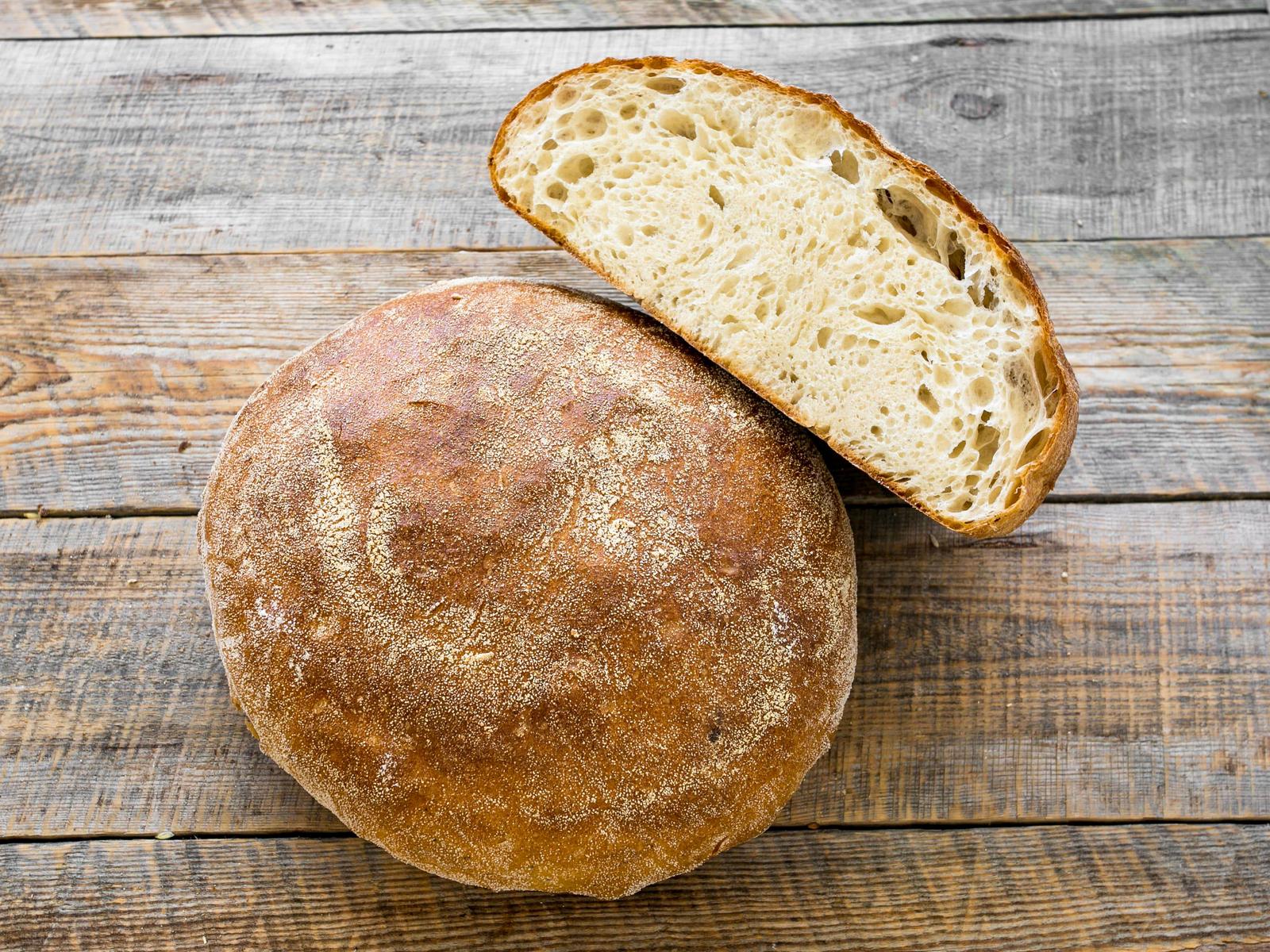 Хлеб Пшеничный на творожной сыворотке