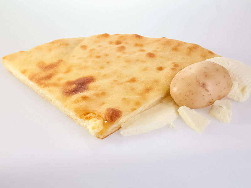 Пирог с сыром и картофелем
