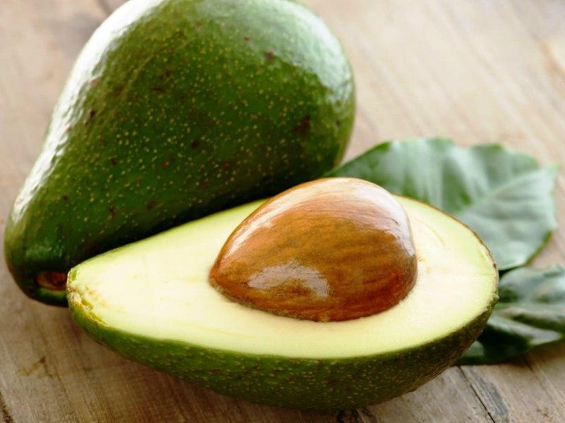 Авокадо на гриле